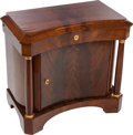 Furniture , A CLASSICAL REVIVAL MAHOGANY BEDSIDE TABLE, 19th century. 32 x 35 x 19-1/2 inches (81.3 x 88.9 x 49.5 cm). PROPERTY FROM T...