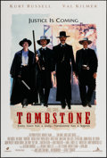 "Movie Posters:Western, Tombstone (Buena Vista, 1993). One Sheet (27"" X 40"") DS. Western.. ..."