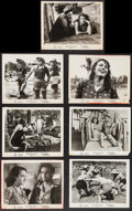 """Movie Posters:Foreign, Bitter Rice (Lux Film, 1950). Photos (7) (8"""" X 10""""). Foreign.. ... (Total: 7 Items)"""