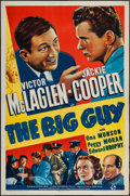 """Movie Posters:Crime, The Big Guy (Universal, 1939). One Sheet (27"""" X 41""""). Crime.. ..."""