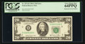 Error Notes:Mismatched Serial Numbers, Fr. 2074-B $20 1981A Federal Reserve Note. PCGS Very Choice New 64PPQ.. ...