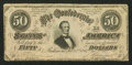 Confederate Notes:1864 Issues, Low Serial Number 21 T66 $50 1864.. ...