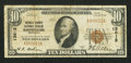 National Bank Notes:Kentucky, Harrodsburg, KY - $10 1929 Ty. 1 Mercer County NB Ch. # 13612. ...