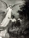 Books:Prints & Leaves, [African-Americana]. Original Lithograph Poster, The ProtectingAngel. P. P. & F. R. Co., 1910. ...