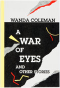 Books:Fiction, [Black Sparrow Press]. Wanda Coleman. SIGNED/LIMITED. A War of Eyes and Other Stories. ...