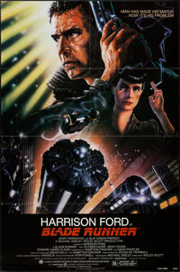 """Blade Runner (Warner Brothers, 1982). One Sheet (27"""" X 41""""). Science Fiction"""