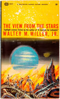 Books:Science Fiction & Fantasy, Walter M. Miller, Jr. INSCRIBED. The View from the Stars. New York: Ballantine Books, [1964]. First edition thus. Ma...