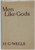 Books:Science Fiction & Fantasy, H.G. Wells. Men Like Gods. London, et al: Cassell andCompany, [1923]. First edition. ...