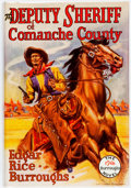 Books:Literature 1900-up, Edgar Rice Burroughs. The Deputy Sheriff of Comanche County.Tarzana: Edgar Rice Burroughs, [1940]. Stated first edi...