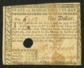 Colonial Notes:Massachusetts, Massachusetts May 5, 1780 $1 About New.. ...