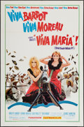 "Movie Posters:Adventure, Viva Maria! (United Artists, 1966). One Sheet (27"" X 41"").Adventure.. ..."
