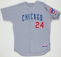 Baseball Collectibles:Uniforms, 2012 Marlon Byrd Game Worn Chicago Cubs Jersey. ...
