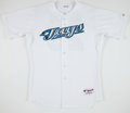 Baseball Collectibles:Uniforms, 2007 Troy Glaus Game Worn Toronto Blue Jays Jersey. ...