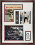 """Movie Posters:Rock and Roll, Michael Jackson Super Bowl XXVII Half Time Show (1993). CustomFrame (26"""" X 33"""") with Photos (2) (7.5"""" X 9.5"""" & 10.5"""" X13.5..."""