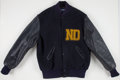 Football Collectibles:Uniforms, Circa 1970's Notre Dame Fighting Irish Band Member's Jacket....
