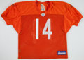 Football Collectibles:Uniforms, 2007 Brian Griese Practice Worn Chicago Bears Uniform. ...