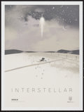 "Movie Posters:Science Fiction, Interstellar (Paramount, 2014). IMAX Exclusive Poster (12"" X 16"").Science Fiction.. ..."