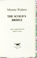 Books:Mystery & Detective Fiction, Minette Walters. SIGNED/LIMITED. The Scold's Bridle.Bristol: Scorpion Press, [1994]. Edition limited to fifteen let...
