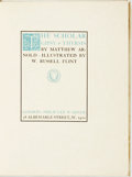 Books:Literature 1900-up, Matthew Arnold. William Russell Flint, illustrator. SIGNED/LIMITED.The Scholar Gipsy & Thrysis. London: Philip Lee ...