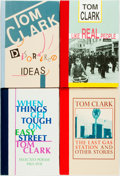 Books:Literature 1900-up, [Black Sparrow Press]. Tom Clark. SIGNED/LIMITED. Four Books of Prose and Poetry. ... (Total: 4 Items)