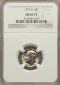 Roosevelt Dimes: , 1975-D 10C MS67 Full Bands NGC. NGC Census: (10/0). PCGS Population (5/0). Mintage: 313,705,312. Numismedia Wsl. Price for ...