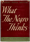 Books:Americana & American History, Robert Russa Moton. What the Negro Thinks. Garden City:Garden City Publishing, [1942]....