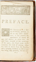 Books:Literature Pre-1900, [Oldys, William, compilier, attrib.] [A Collection Of Epigrams.To Which Is Prefix'd, A Critical Dissertation On This Sp...