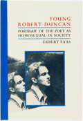 Books:Biography & Memoir, [Black Sparrow Press]. Ekbert Fass. SIGNED/LIMITED. Young RobertDuncan: Portrait of the Poet as Homosexual in Society...