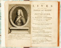 Books:Biography & Memoir, Grove, Joseph. The Lives Of All The Earls and Dukes OfDevonshire, Descended from the Renowned Sir William Cavendish,On...