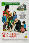 "Movie Posters:Adventure, Challenge to Lassie & Others Lot (MGM, R-1973). One Sheets (2)(27"" X 41"") Children's Matinee and Family Matinee Styles &Lo... (Total: 3 Items)"