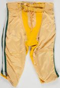 Football Collectibles:Uniforms, Early 1970's Green Bay Packers Game Worn Pants....