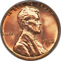 Lincoln Cents, 1962 1C MS67 Red PCGS....