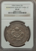 China:Kiangnan, China: Kiangnan. Kuang-hsü Dollar CD (1904) XF45 NGC,...