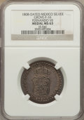 Mexico, Mexico: Ferdinand VII Proclamation Medal of 2 Reales 1808 MS63NGC,...