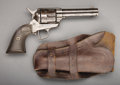 "Western Expansion:Cowboy, COLT SINGLE-ACTION REVOLVER - Serial number 155659, circa 1890. 4¾""barrel in .32 W.C.F. calibre with hard rubber grips. The... (Total:1 Item)"