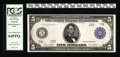 Large Size:Federal Reserve Notes, Fr. 871a $5 1914 Federal Reserve Note PCGS Very Choice New 64PPQ. From our sale of the Malcolm Trask Collection, where it wa...
