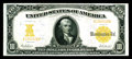 Large Size:Gold Certificates, Fr. 1171 $10 1907 Gold Certificate Choice About New. This is one of those AU notes that is superior in looks to many CU exam...