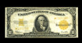 Large Size:Gold Certificates, Fr. 1173 $10 1922 Gold Certificate Star Fine-Very Fine. Here is a new serial number to be recently swept up in the Star reco...
