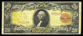 Large Size:Gold Certificates, Fr. 1179 $20 1905 Gold Certificate Fine+. The colors on the faceand back are beautiful on this well margined Technicolor $2...