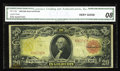 Large Size:Gold Certificates, Fr. 1180 $20 1905 Gold Certificate CGA Very Good 08. This note exhibits the typical fading of the back, but the face still r...