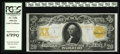 Large Size:Gold Certificates, Fr. 1186 $20 1906 Gold Certificate PCGS Superb Gem New 67PPQ.Rarely do we have an opportunity to have one gorgeous note of ...