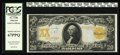 Large Size:Gold Certificates, Fr. 1186 $20 1906 Gold Certificate PCGS Superb Gem New 67PPQ. Aboutas close to perfection as any Gold Certificate that you ...