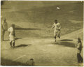 Baseball Collectibles:Photos, 1926 Ty Cobb Wire Photographs Lot of 2. From the personalcollection of former Yankees bat boy Joe Glassenberg, whoseRuth,...