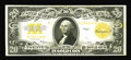 Large Size:Gold Certificates, Fr. 1187 $20 1922 Gold Certificate Very Fine-Extremely Fine. A deep orange back is found on this $20 Gold that has a noticea...