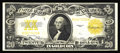 Large Size:Gold Certificates, Fr. 1187 $20 1922 Gold Certificate Very Fine-Extremely Fine. This colorful survivor has not been affected by the hard fold o...