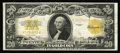 Large Size:Gold Certificates, Fr. 1187 $20 1922 Gold Certificate Very Fine. A great-looking Gold Twenty for the grade, with natural paper surfaces and bri...