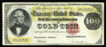 Large Size:Gold Certificates, Fr. 1210 $100 1882 Gold Certificate Fine+. This note is currentlyin the Gengerke census with no information. We are pleased...
