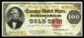 Large Size:Gold Certificates, Fr. 1215 $100 1922 Gold Certificate Fine+. This note has greatcolor and body but exhibits a couple of taped margin splits, ...