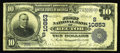 Rector, AR - $10 1902 Plain Back Fr. 632 The First NB Ch. # (S)10853 A just plain rare note from the only bank to issue...