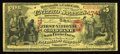 San Francisco, CA - $5 Original National Gold Bank Note Fr. 1136 The First National Gold Bank Ch. # 1741 An exceptional...